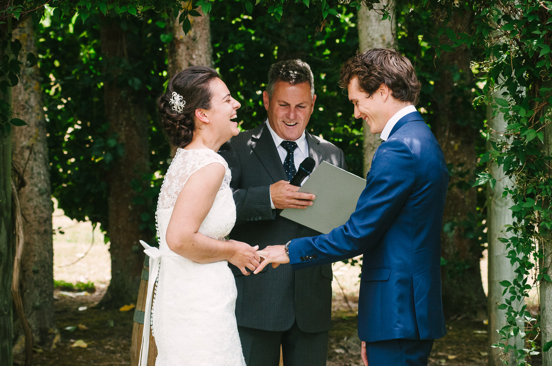 Langdale Vineyard Wedding, Jodie & Jacob exchange rings