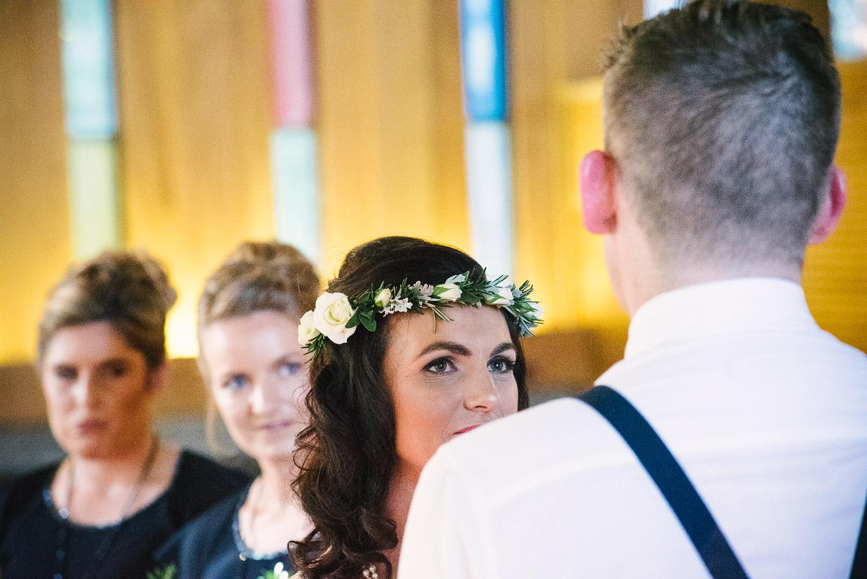 St Mary's Church Wedding Halswell, Tash on her wedding day.