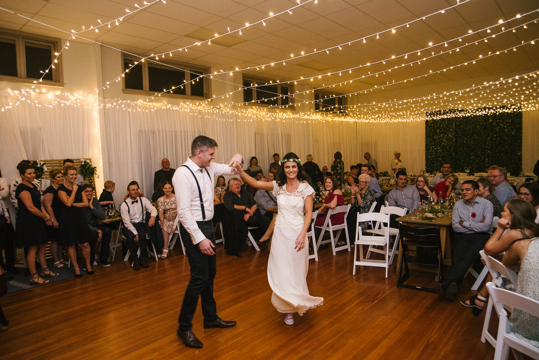 St Mary's Church Wedding Halswell, Tash & Tim's first wedding dance.