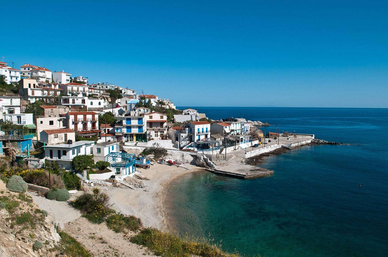 Amenistis, Ikaria Island, Aegean Sea, Greece.