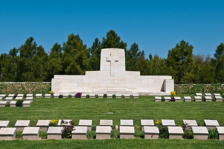 ANZAC war memorial, Gallipoli Peninsula, Turkey.