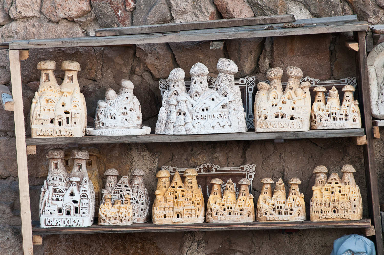Souvenirs, Cappadocia, Turkey.