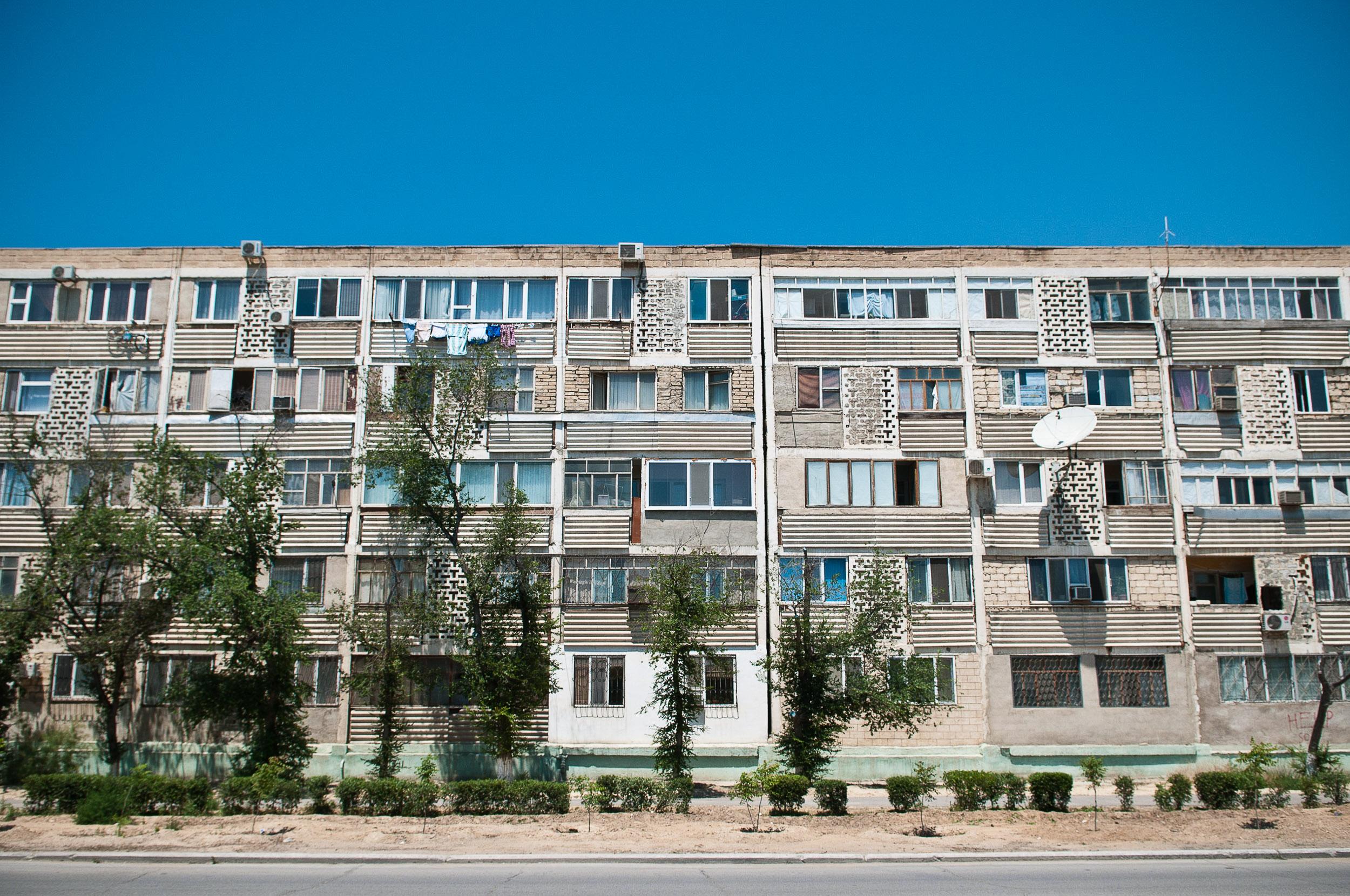 Apartments, Aktau, Kazakhstan.