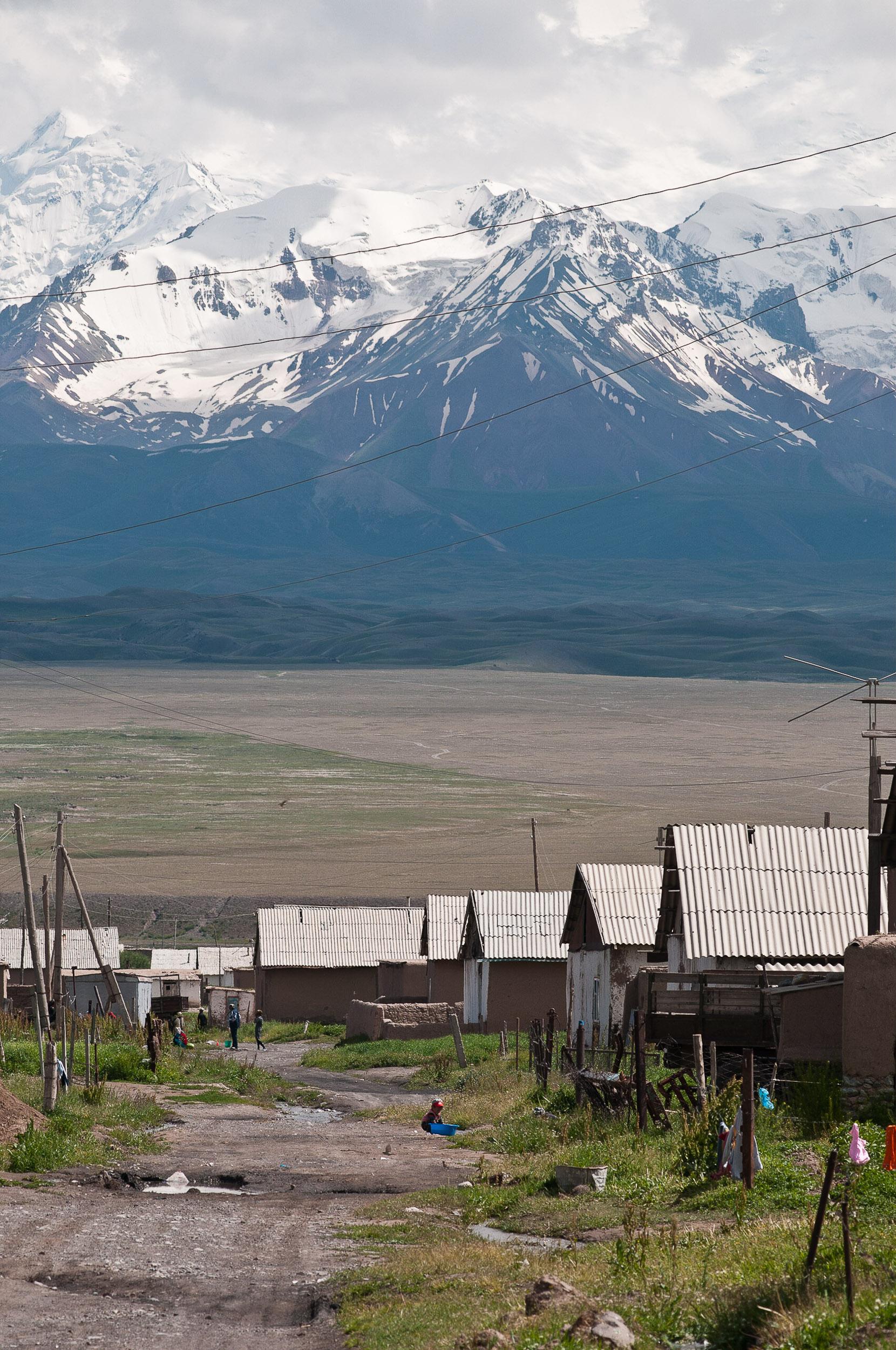 Sary Tash village, Kyrgyzstan.