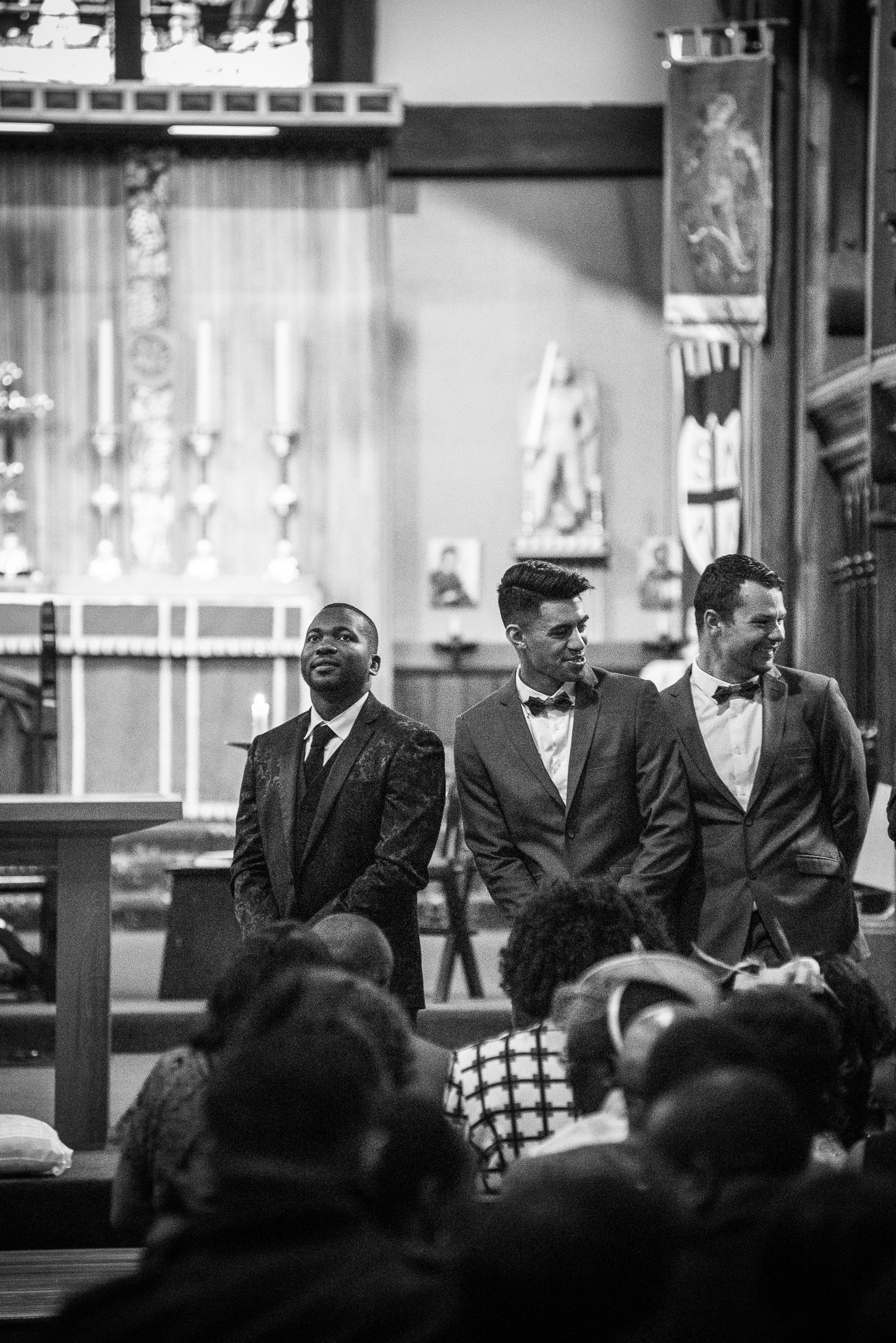Karly and Alfred's wedding day at St Michael's Church and Christchurch Art Gallery, Christchurch, New Zealand, on the 18th February 2017. © www.myweddingphotographer.co.nz