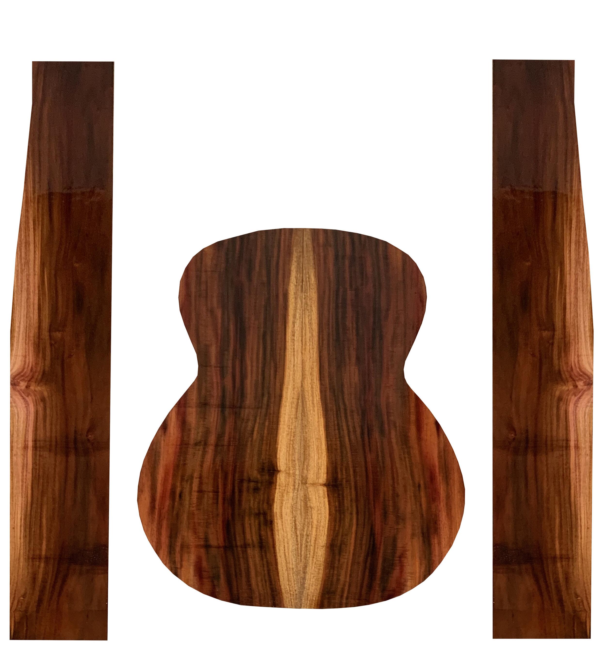 Hawaiian Milo Guitar Set