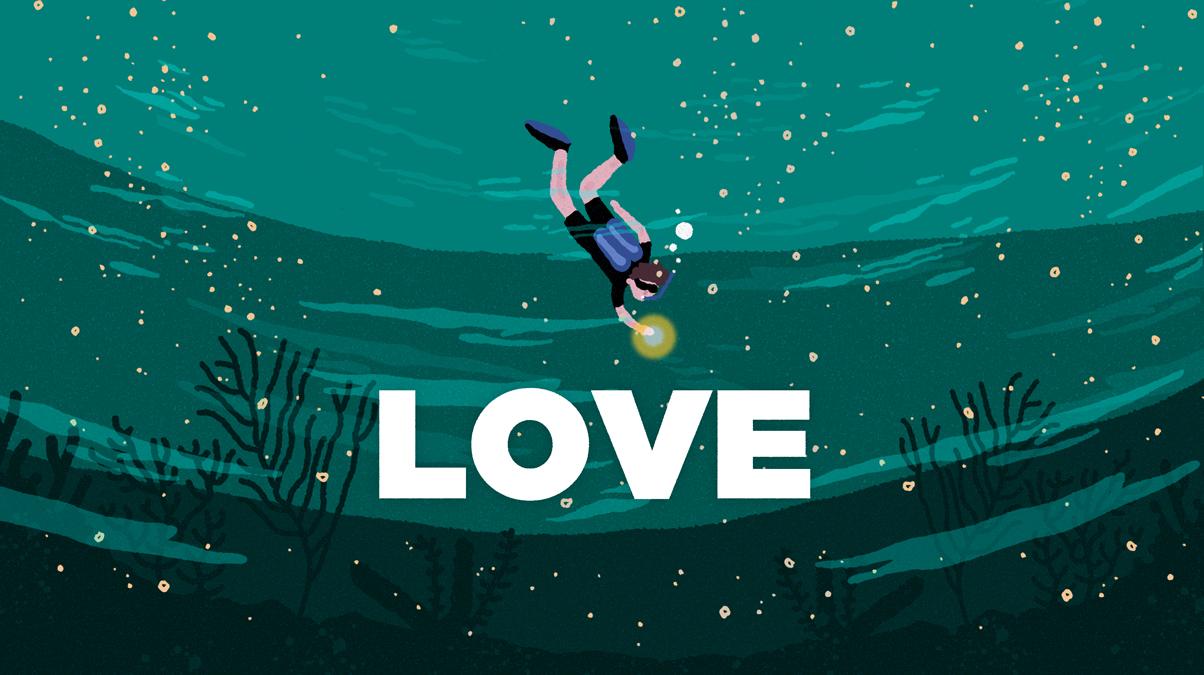 라이프쉐어 다이빙 클럽 'LOVE'