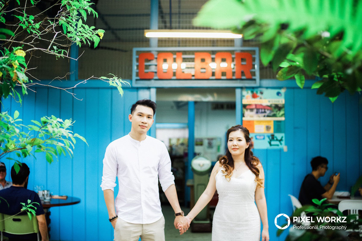 Engagement Portrait Session at Colbar