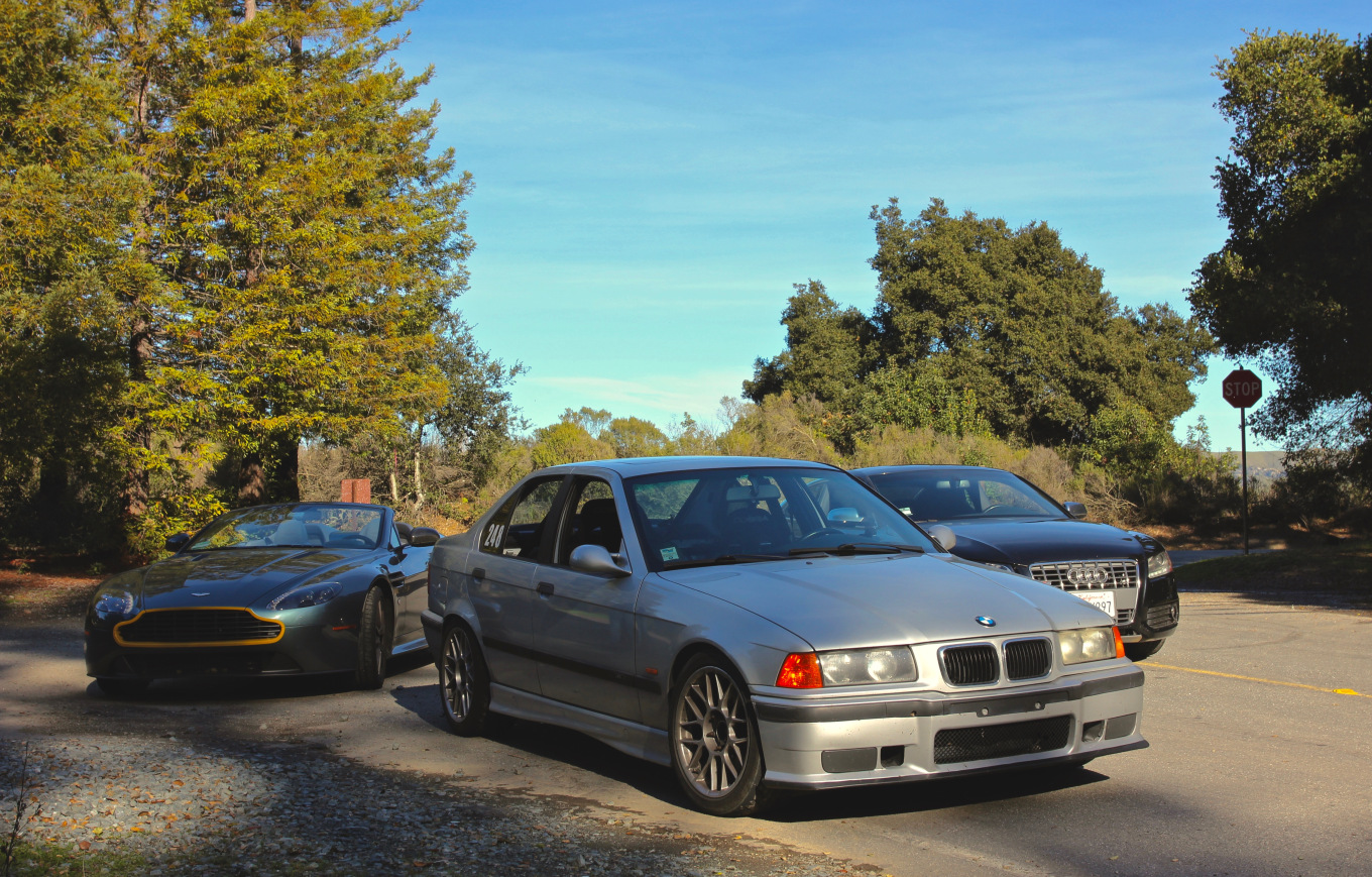 I texted my friend that I had an e36 for a few hours, then this happened. You'll hear more about the lipsticked Englishman soon.