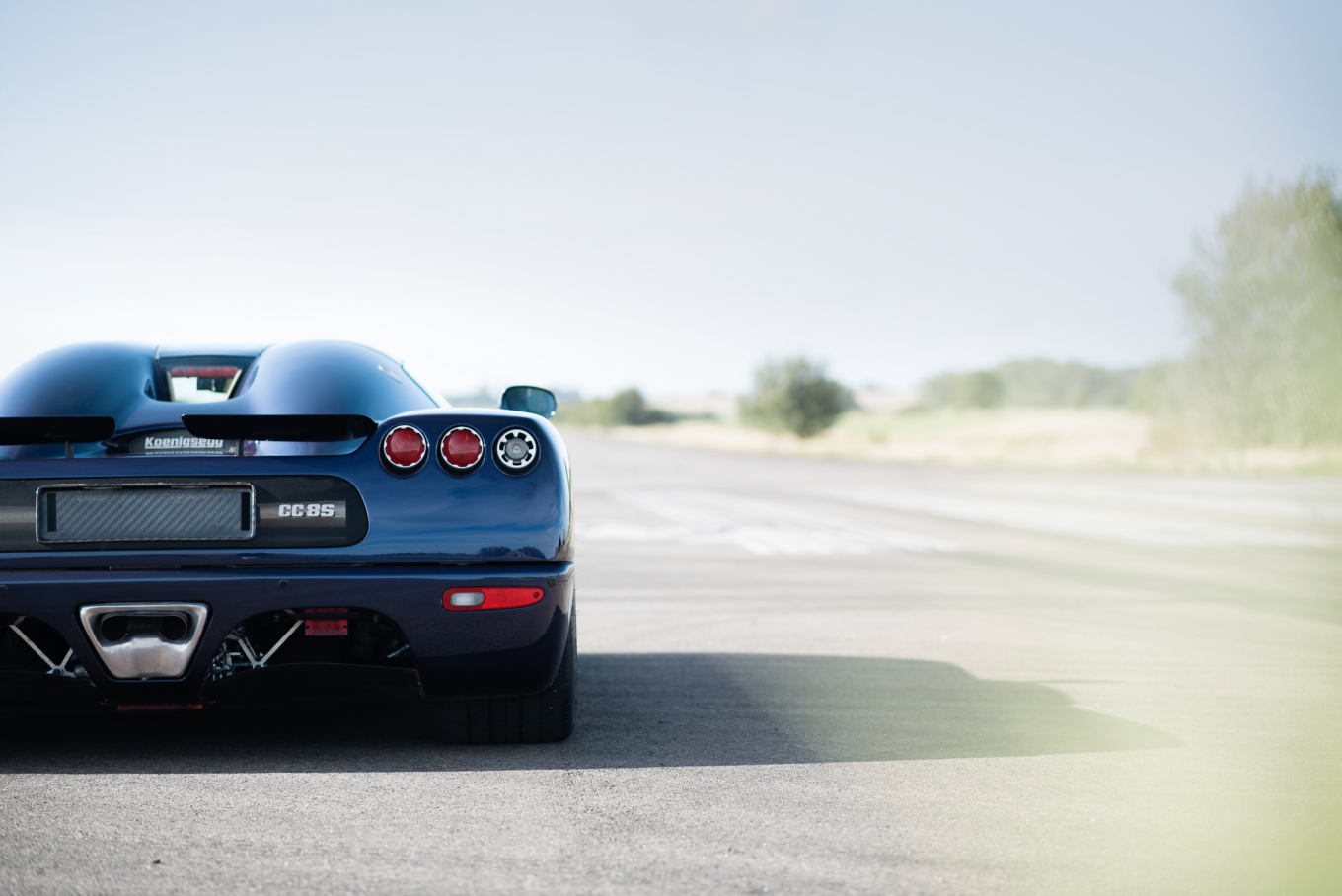 The CC8S: a rear end that gets better the more you stare.