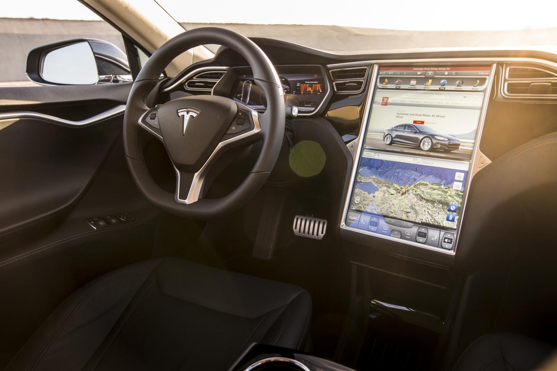 Tesla Model S interior, for comparison's sake.