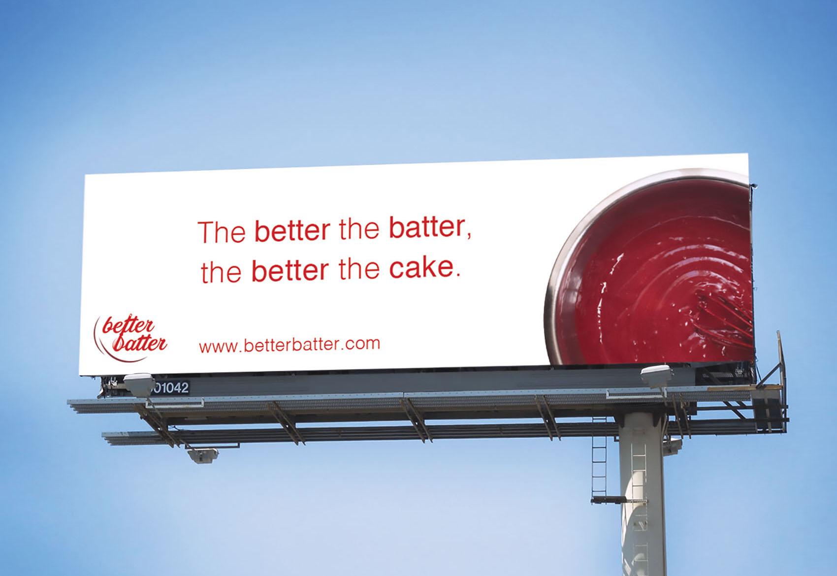 Better Batter Billboard Ad