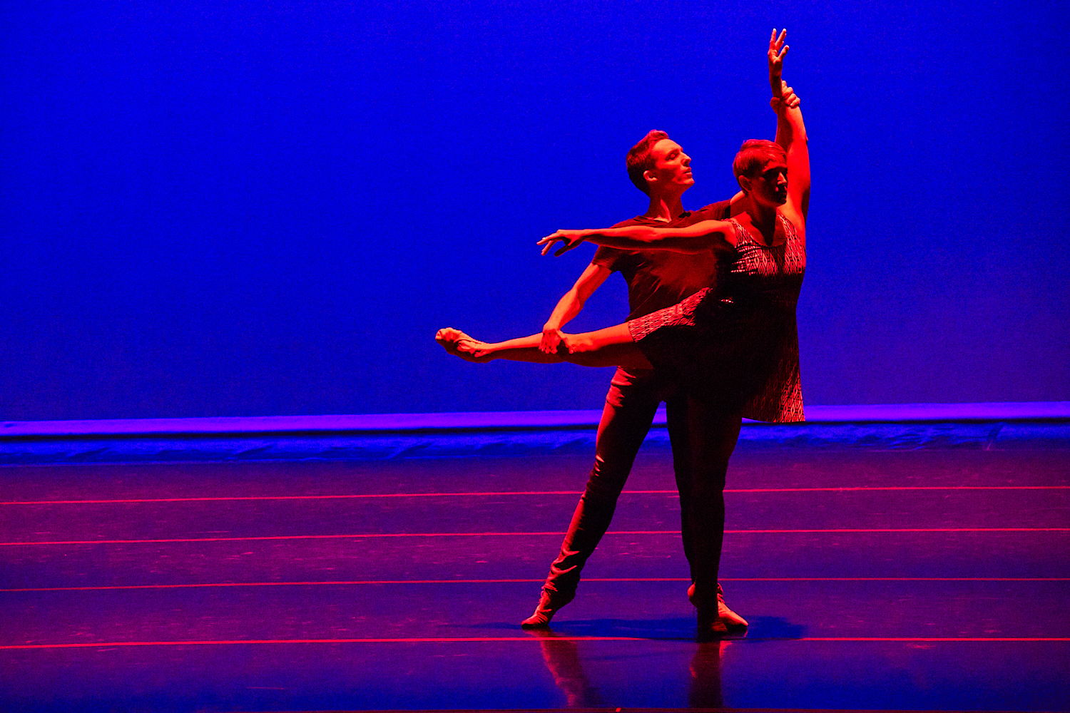 kairos , 2018 dancers: Kate Monthy and Nathan Cook