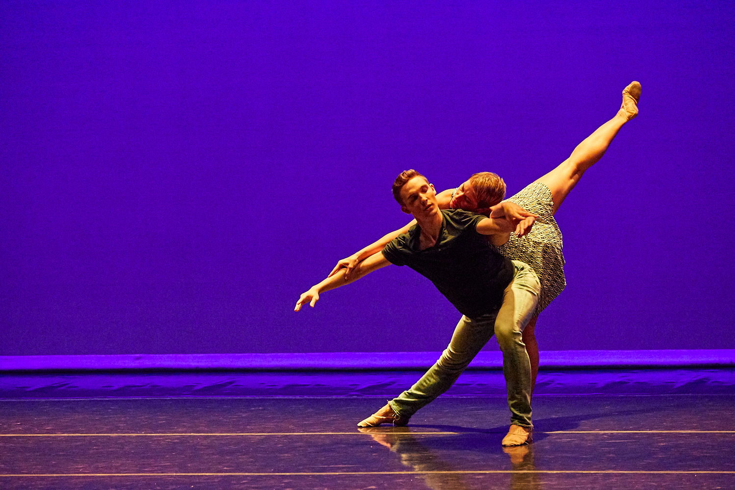 kairos,  2018 dancers: Kate Monthy and Nathan Cook