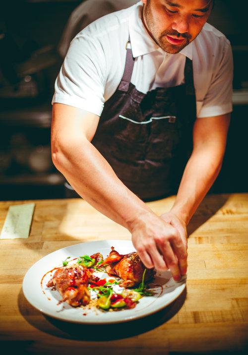 Brandon Jew of Mister Jiu's - Award-winning Executive Chef and Owner