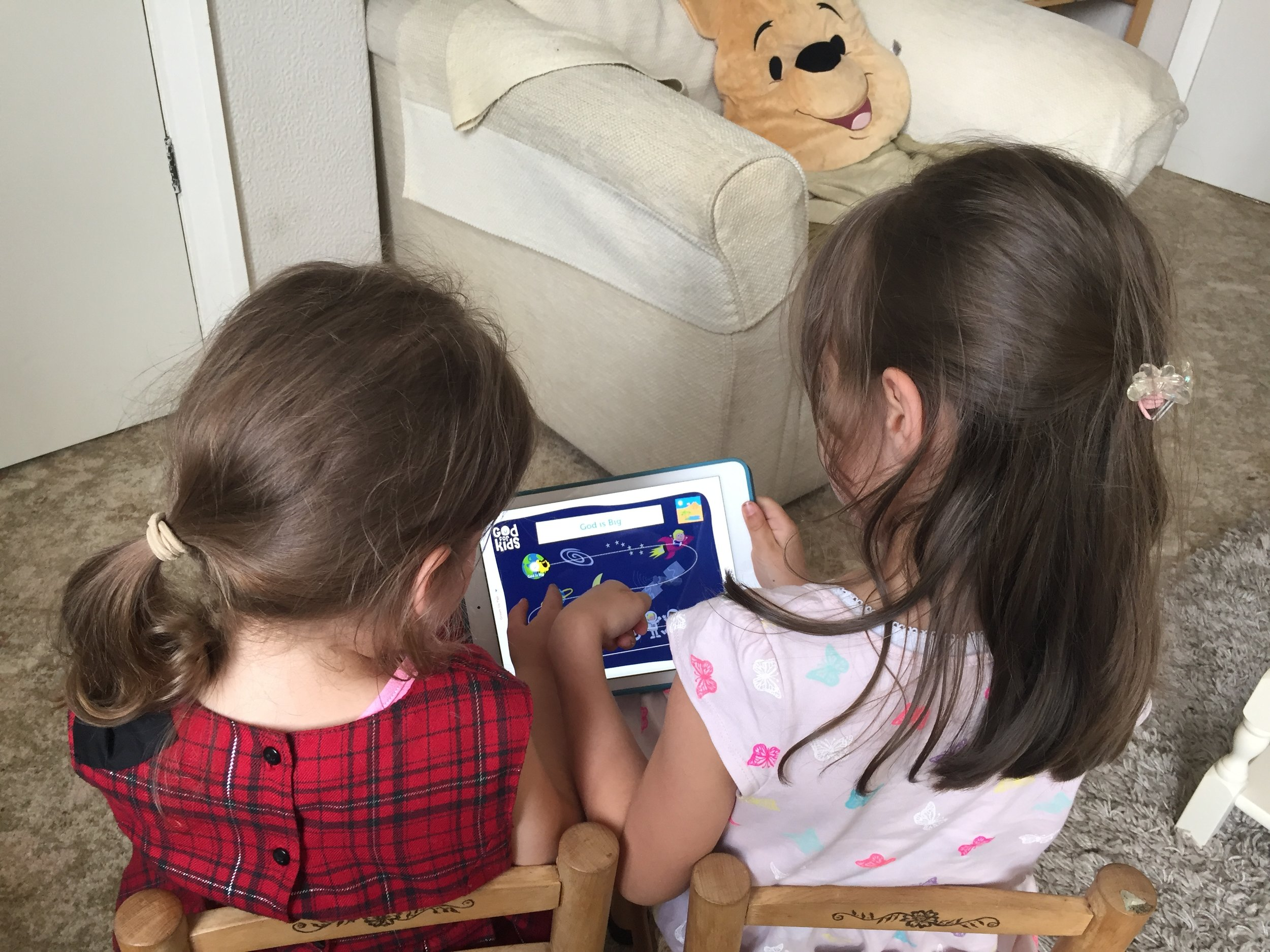 God for Kids app review 2