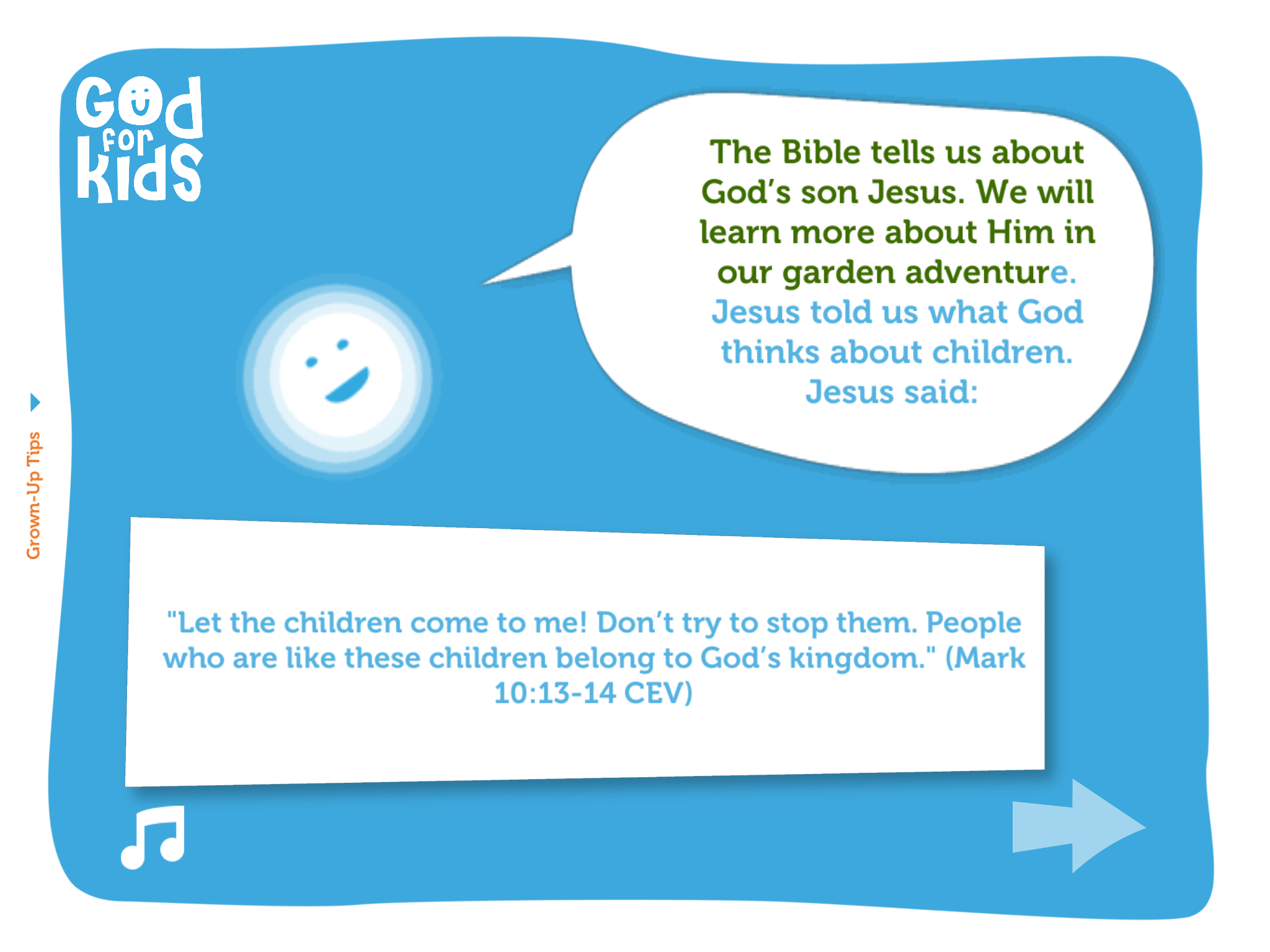 ...like this one... - (Used with Permission, see copyright page)Space Adventure: God is Kind
