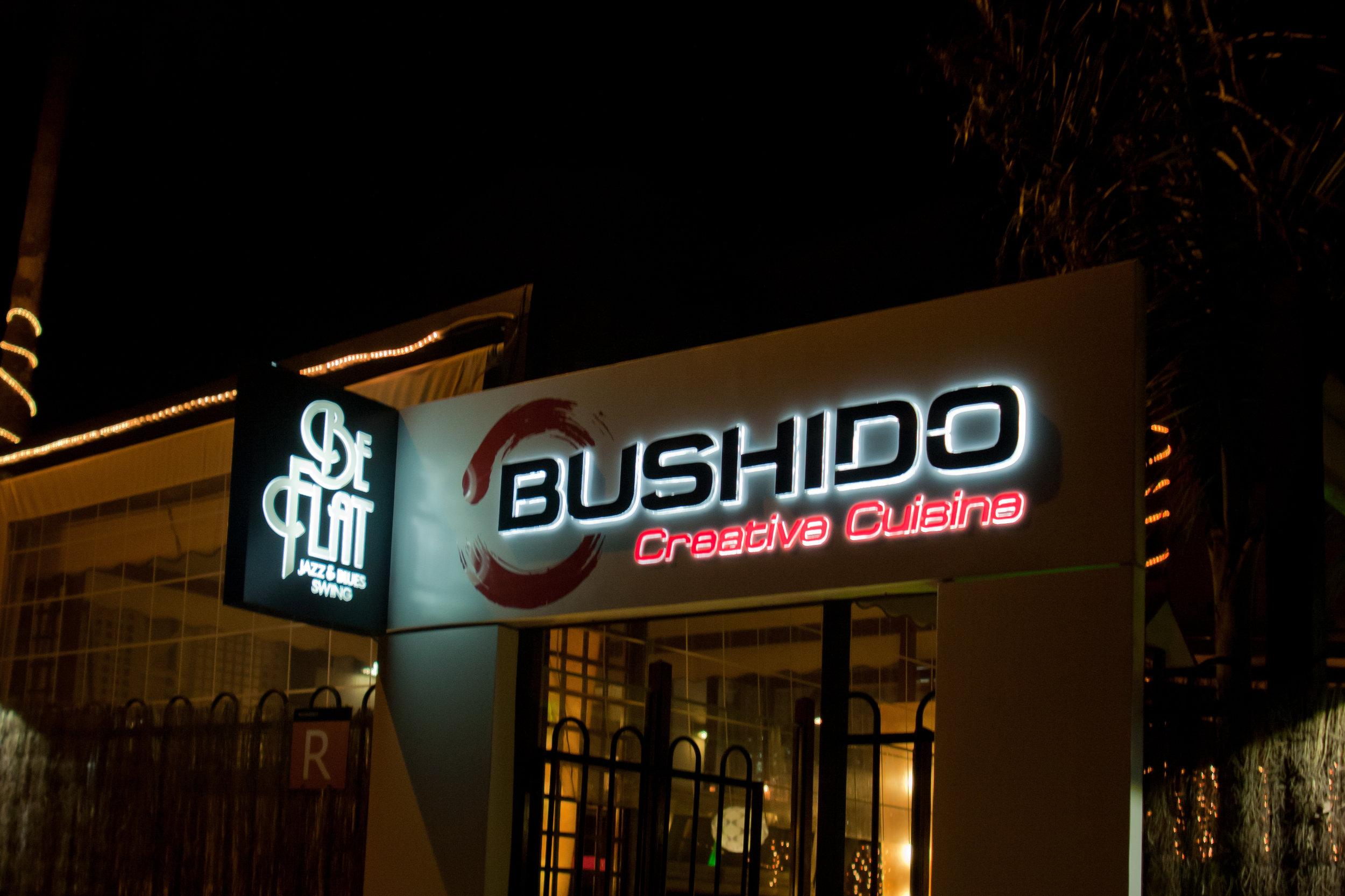 CARTEL ENTRADA BUSHIDO.JPG