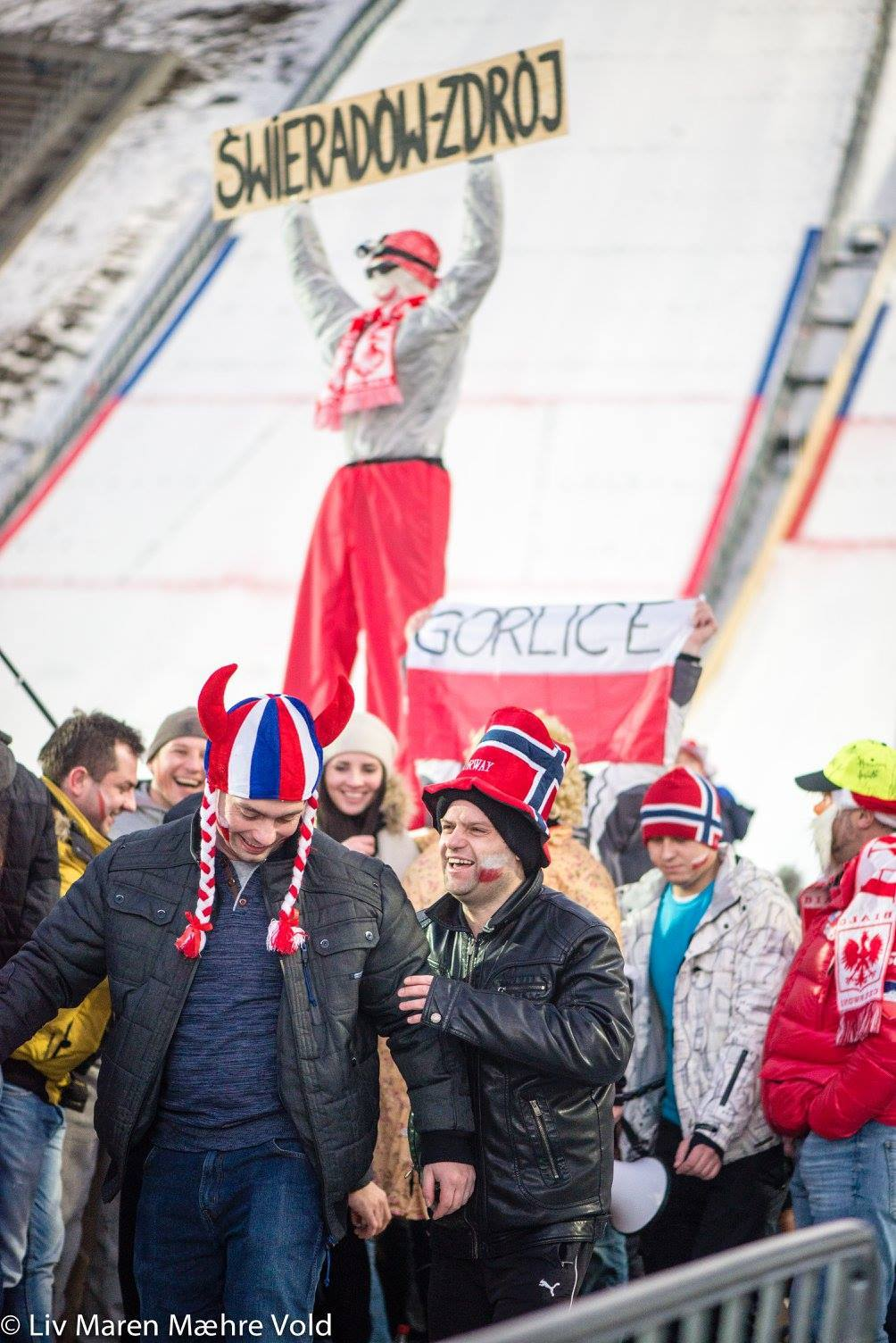 God stemning under RAW Air Lillehammer 2017! Foto: Liv Maren Mæhre Vold