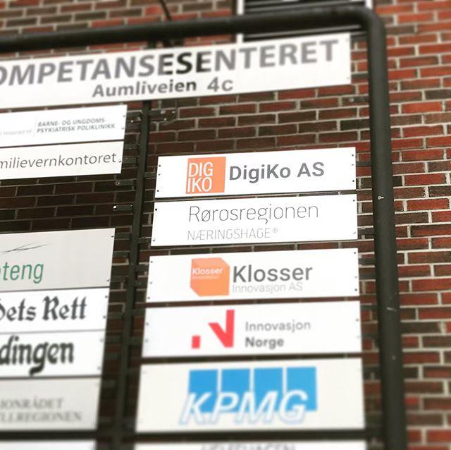 Nå har det blitt enda lettere å finne fram til oss 😁👏 #tynset #kompetansesenteret