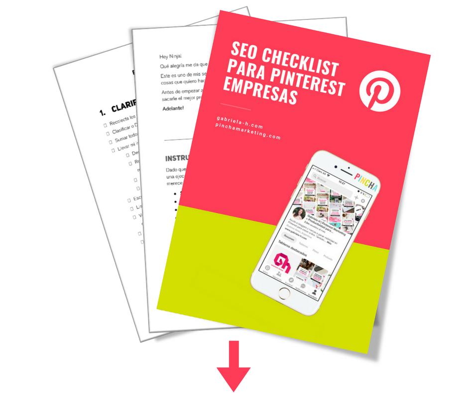 Gratis Guia SEO para Pinterest
