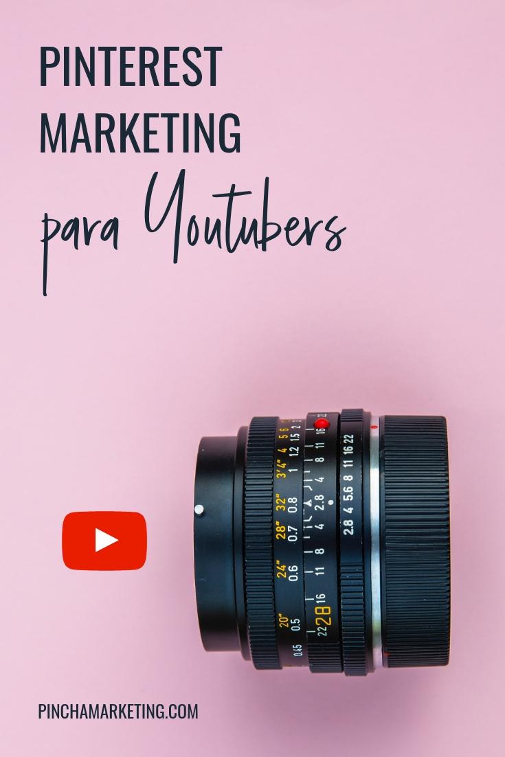 Cómo usar Pinterest para hacer crecer tu canal de Youtube #pinchapodcast #youtubers #youtubetips #influencermarketing #pinterestmarketing #seo