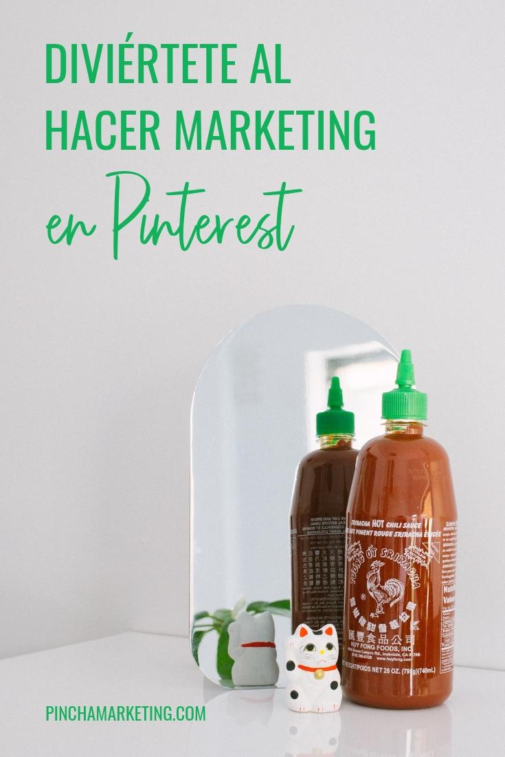 Como hacer Marketing en Pinterest y pasarla bien #pinchapodcast