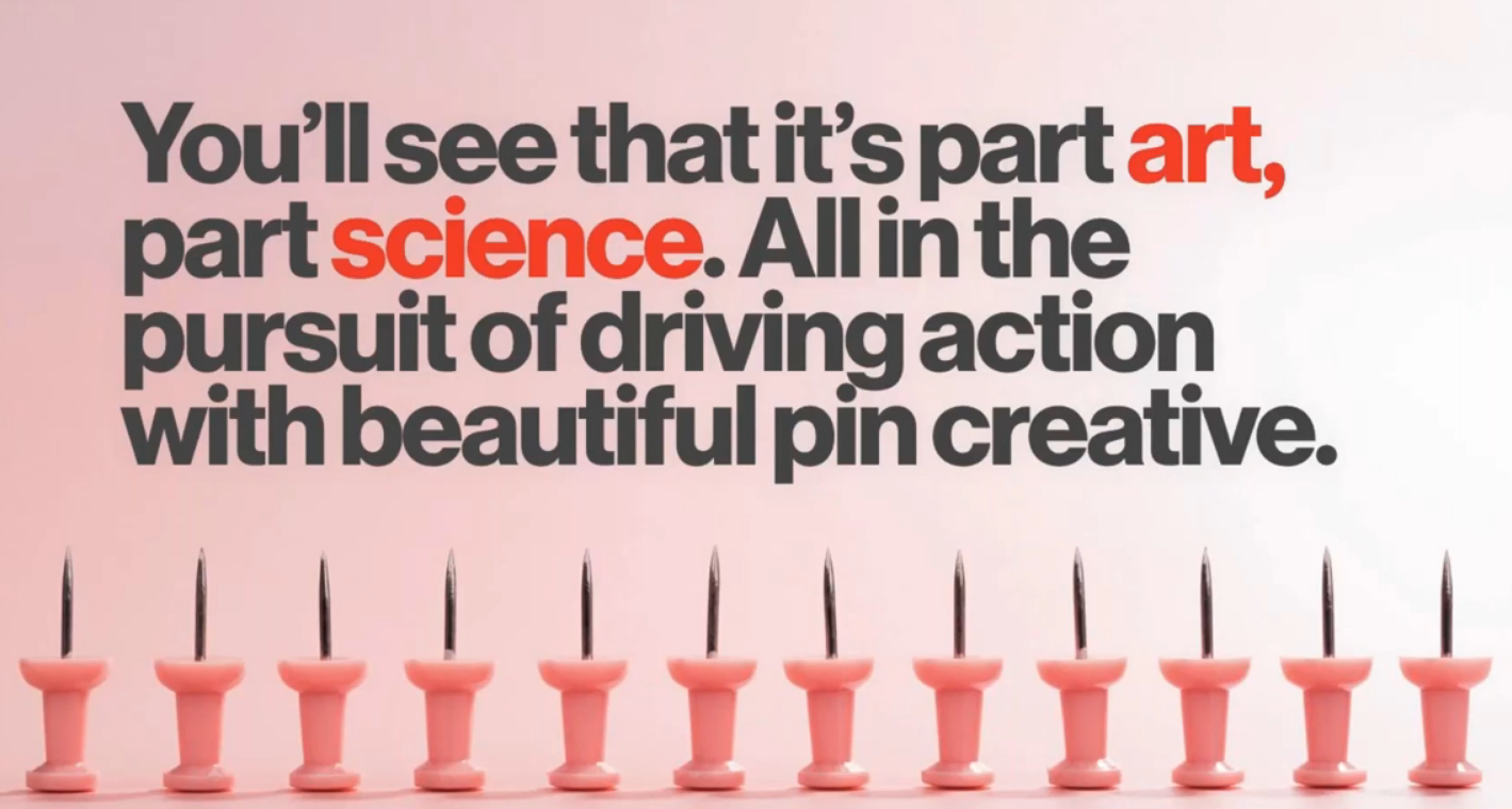 Webinar:  What's Creative on Pinterest