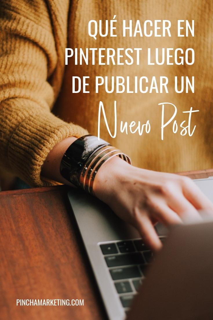 Cómo subir un nuevo post a Pinterest: Paso a Paso #pinchapodcast #pinterestespañol #pinterestmarketing #bloggingespañol