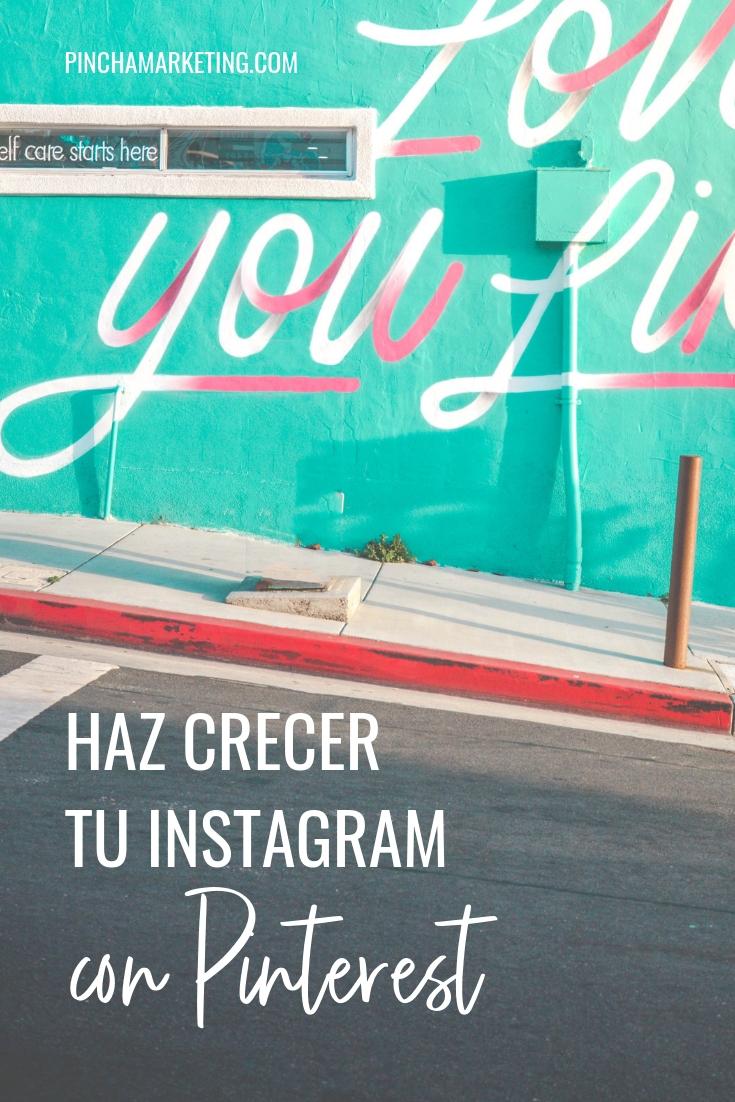 Como usar Instagram con Pinterest #pinchapodcast #pinchamarketing #pinterest #instagram