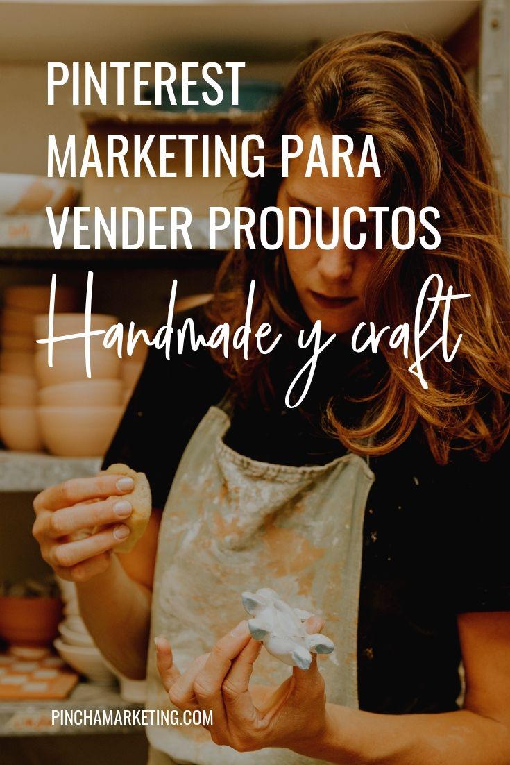 Cómo usar Pinterest si vendes productos handmade #pinchapodcast #handmade #etsy #tiendaonline #craft #handmade