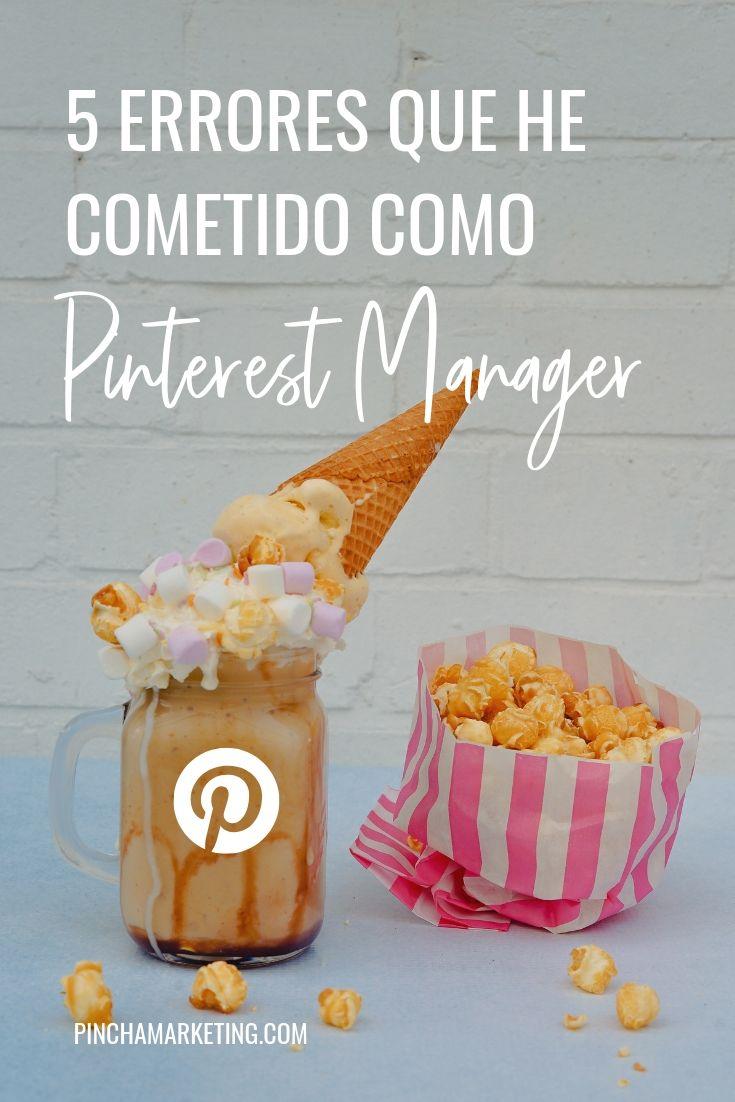 Errores que he cometido siendo Pinterest Manager #pinchapodcast #pinterestmanager #pinterestespañol #trabajosporinternet