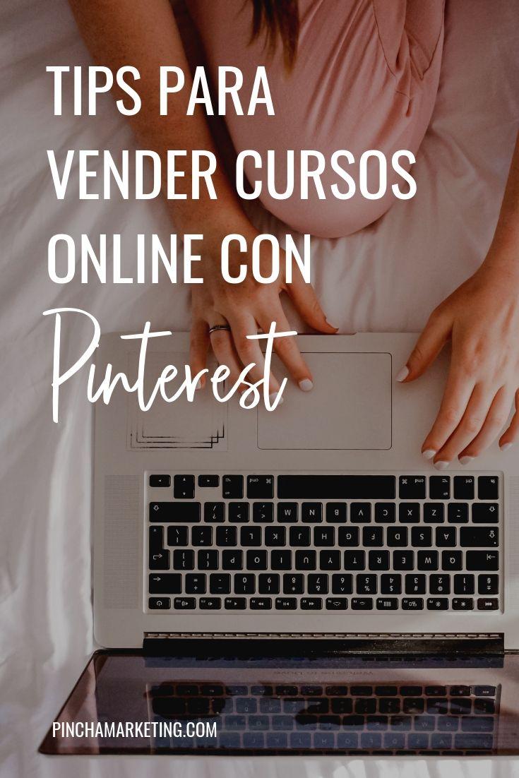 Como vender cursos online con Pinterest #pinchapodcast #cursosonline #emprender #ganardineroonline