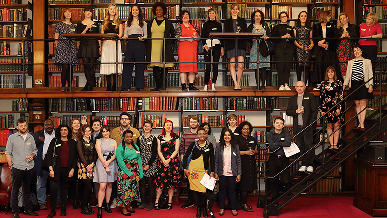 2019 London Library Emerging Writers - It was a real honour to be offered a place on The London Library Emerging Writers Programme 2019.On the 2nd of May I was invited to an evening reception and launch, held at the Historic reading Room at The London Library. This is the inaugural year that the Library has opened this initiative for unpublished writers.The candidates were selected by a panel of judges including screenwriter Daisy Goodwin, novelist Nikita Lalwani, poet Raymond Antrobus, Head of Prizes and Awards at The Society of Authors Paula Johnson and Director of literary Agency AM Heath Bill Hamilton.The cohort of 38 writers selected for the 2019 programme are a diverse group and I really look forward to having the opportunity to meet and interact with all of them over the next year. The programme offers networking opportunities and writing development masterclasses as well as complimentary access to the library and its resources.