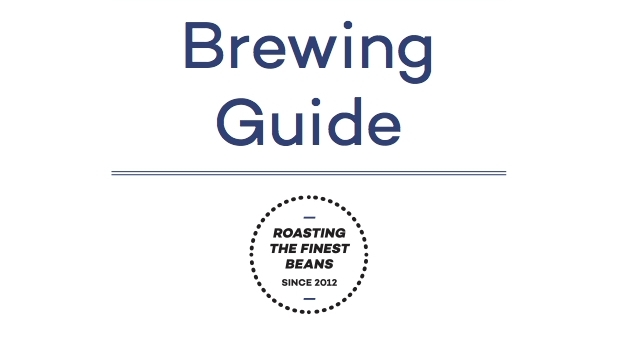 Bean Brothers Brewing Guide