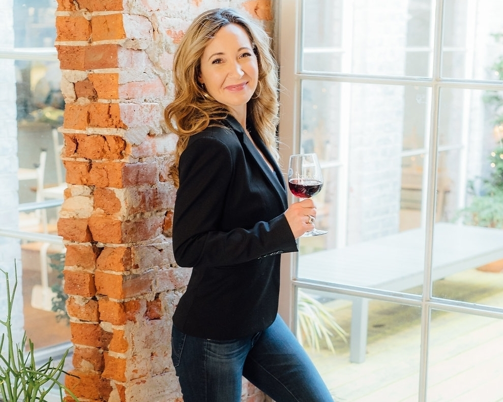 Noelle Allen  Creator of Winelala   Photo credit: Monica Ayers Photography