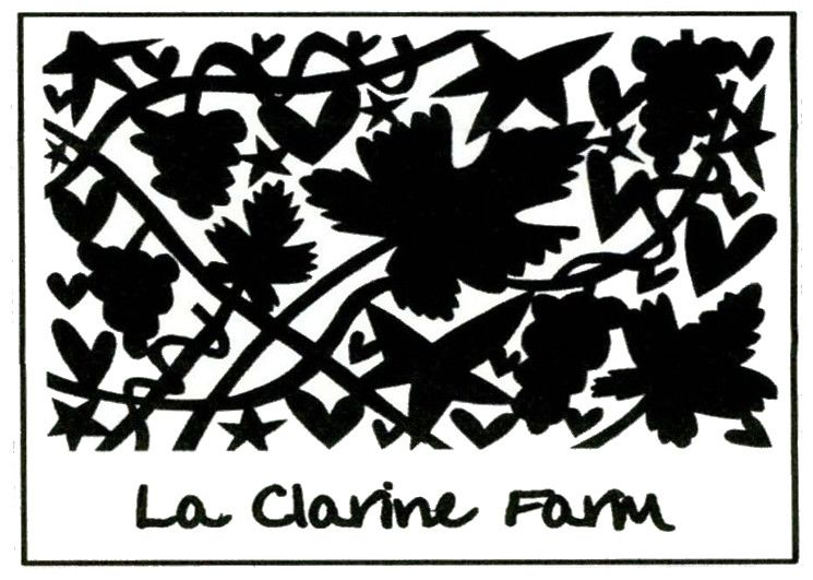 This lovely label shot was taken directly from  La Clarine Farms' webpage.