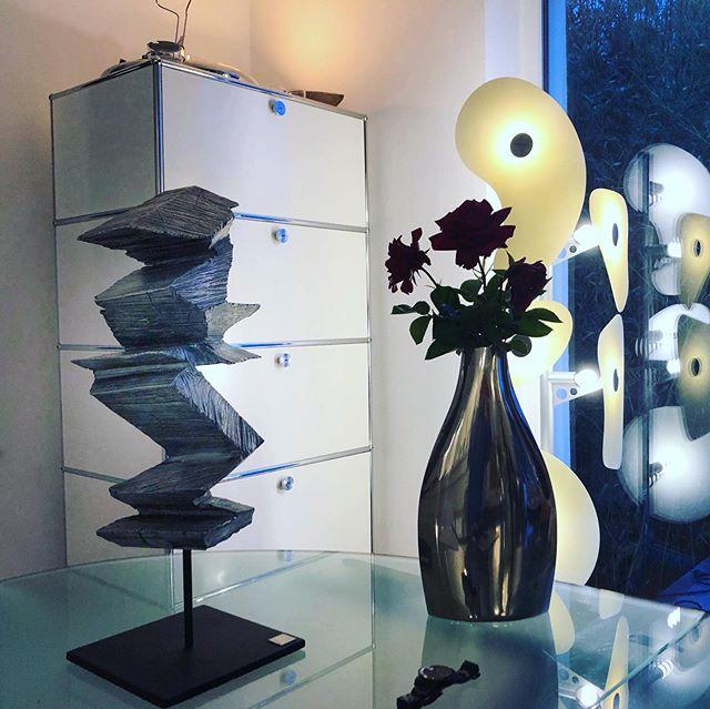 ║█║║█║ SKULPTURBAR | ATELIER & GALERIE INFO--► www.skulpturbar.de #skulpturbar #sylvioeisl #claudiaeisl #eisl #sylvio.silverfox █ #Holzskulpturen #bronzeskulpturen #aluskulputen  Kühle Eleganz: Alasan Alu by #sylvio_eisl, Aluminiumguss 2016, 2/3
