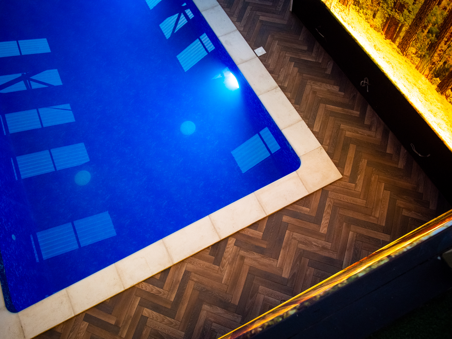 Heated by renewable energy - Our luxurious heated indoor swimming pool is powered by our wood-chip Bio-mass, an environmentally friendly alternative that uses renewable sources to convert into power.