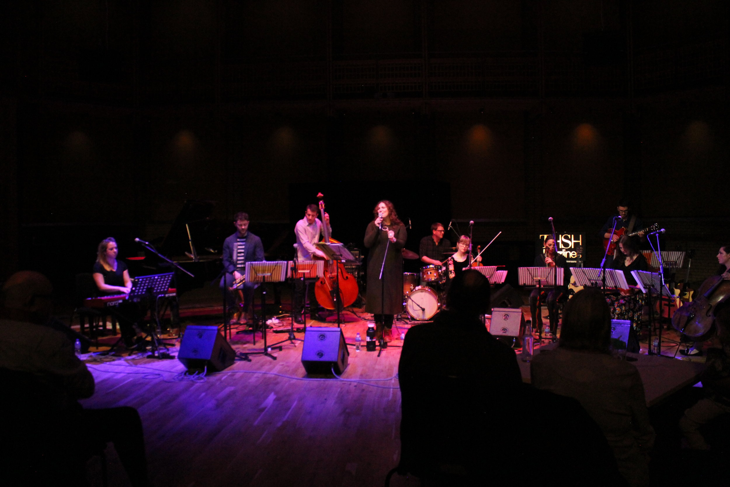 Sara Colman Band live at Birmingham CBSO Centre featuring Steve Banks