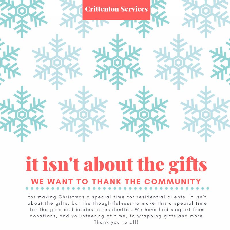 Crittenton Services Christmas
