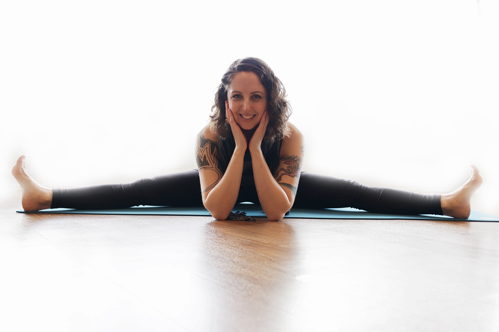 Liz Laneri, Certified Yoga Teacher and Licensed Massage Therapist - When people ask me how often I do yoga, I tell them I think of my yoga practice like meals, I can't skip it. If food is to yoga as yoga is to breath, well then, here we are. Beyond my love of food, much of my energy is focused on movement and bodywork. As a certified yoga teacher from the Boston Yoga School and licensed massage therapist, I value everything the body has to offer us. It only makes sense to me to combine my love of food with yoga, and sharing it with friends and family.We hope you will also feel inspired by food, friends and yoga and share it within your space.