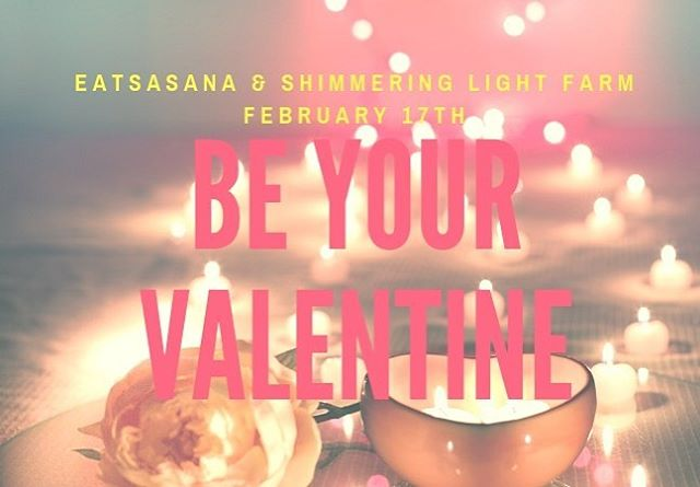 Save the date! We are co-hosting our second retreat with @shimmeringlight_farm on February 17. ✨ Be Your Own Valentine. ❤️ This self-love half day retreat in Naples is an opportunity to come out of hibernation, meet new people and enjoy a winter day. ✨ We'll start with a hearty local meal created by Chef Mackenzie Zerniak. ▪️ Then lumber outside with Forest Bathing Guide & Herbalist Deb Denome, followed by a tea ceremony. ▪️ Finally, we will rest and digest with a restorative yoga practice led by Yoga Teacher and Licensed Massage Therapist. ✨ Take time for yourself this winter, and be your own valentine ❤️ Learn more and sign up at EatsAsana.com/events (Link in bio)  #friendsyogafood #eatsasana #restore #restorativeyoga #localfood #hibernation #valentinesday #beyourownlove #selflove #rocyoga rocfoodie
