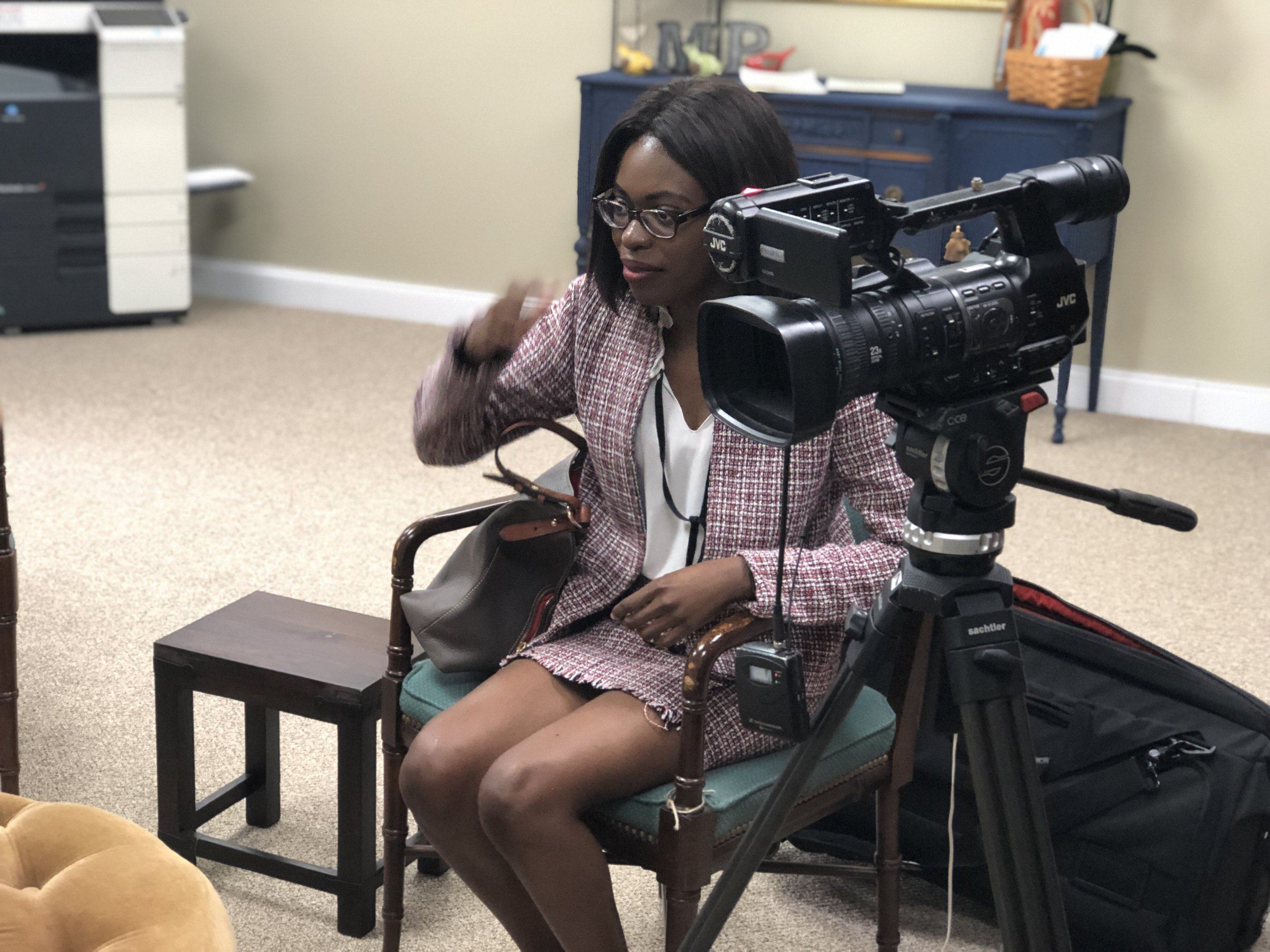 WRBL Correspondent Anjelicia Bruton covering all angles of the story by visiting the Micah's Promise for follow up interview.
