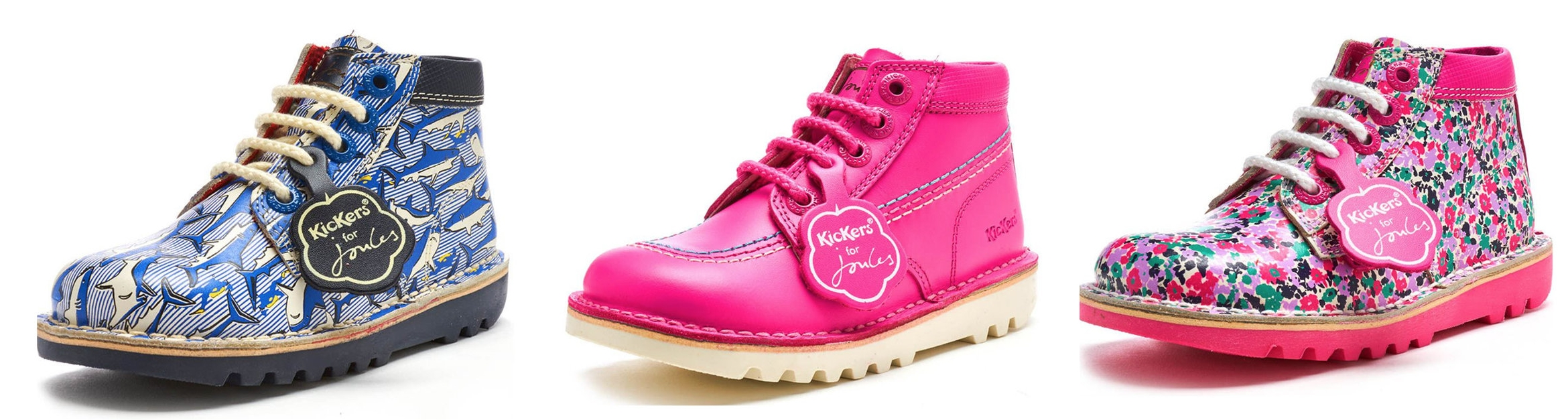 The Kickers x Joules collab (currently on sale). Available to buy at  www.kickers.co.uk