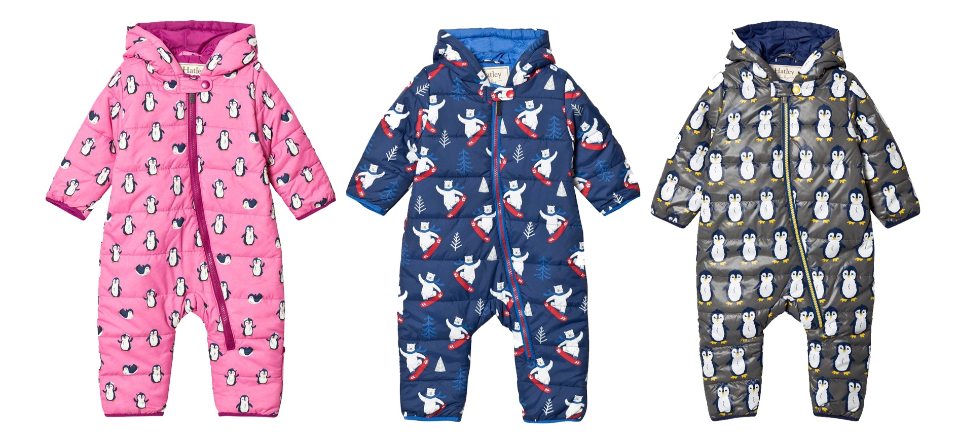Shop Hatley snowsuits at  Alex and Alexa.