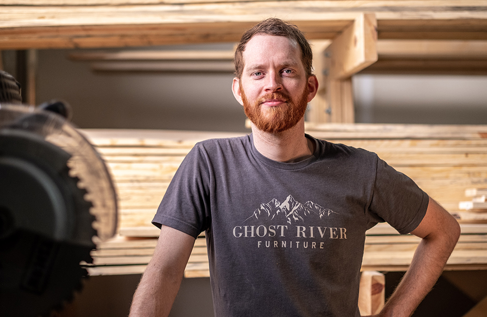 Ghost River owner, Todd Holbrook