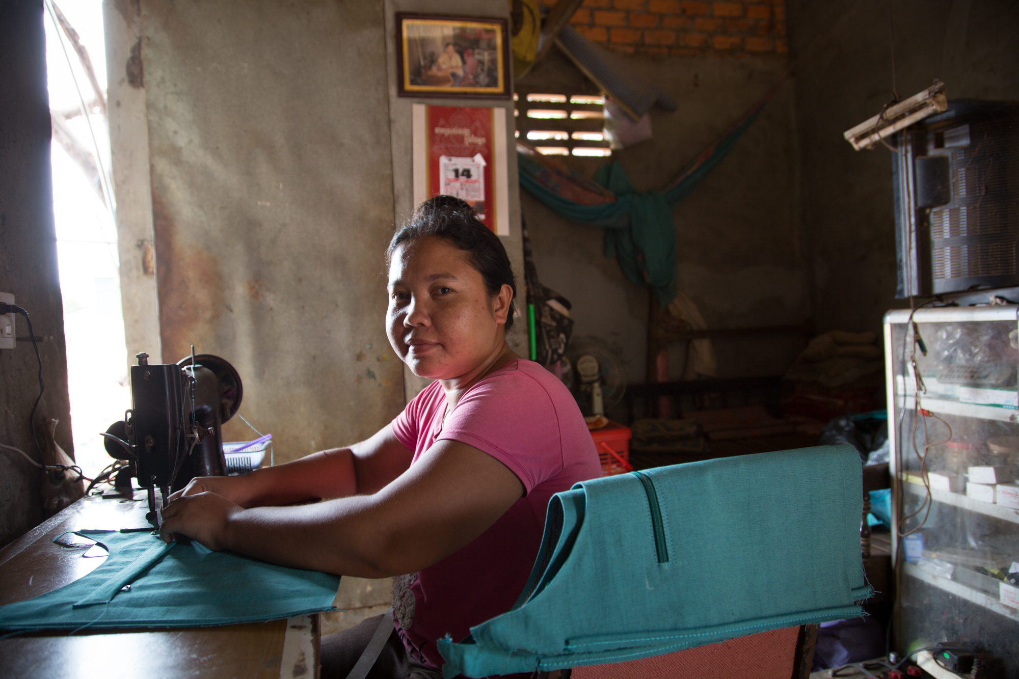 Capacity Building and Market Access, Cambodia Case Study - In 2009, Nomi Network began working with a local social enterprise and training center in Phnom Penh whose mission is to provide transitional jobs for survivors and women at risk of sex trafficking. Through our partnership, Nomi Network designed and developed a product line made by survivors, which Nomi marketed globally. The women receive competitive wages and medical care. All proceeds from Nomi Network's product sales are invested in improving benefits, training, and career development programs for these women,, as well as capacity building and market access for the social enterprise. Prior to receiving Nomi Network's technical assistance and initial order of bags, the enterprise had been planning to shut down due to insufficient product demand coupled with the downturn in the garment manufacturing industry. This would have resulted in 23 women losing their jobs. Our initial order allowed them to keep their doors open and keep their women employed. By 2011, as a result of Nomi Network's marketing efforts there was an increased demand for Nomi Network bags and our partner was able to increase the number of survivors employed to 80 individuals. In 2012, Nomi Network was able to help this social enterprise secure an order from Walmart, one of the largest retailers in the world.