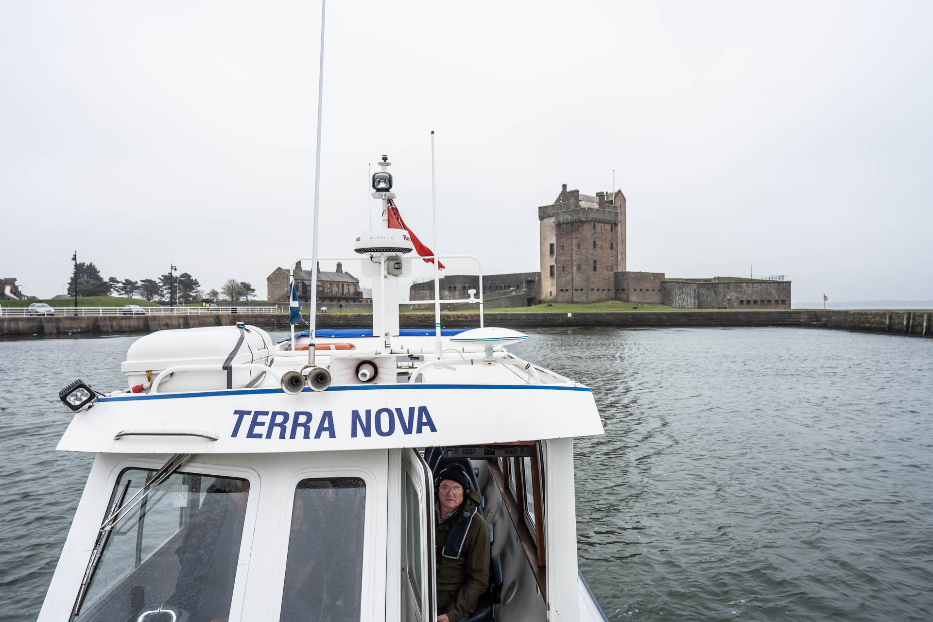 Perth Cruise - Starting at Broughty Ferry Harbour this trip will take you up the River Tay where you will pass under the Tay Road and Rail Bridges, past the V&A and up the river where you can enjoy a trip to the Fair City of Perth.