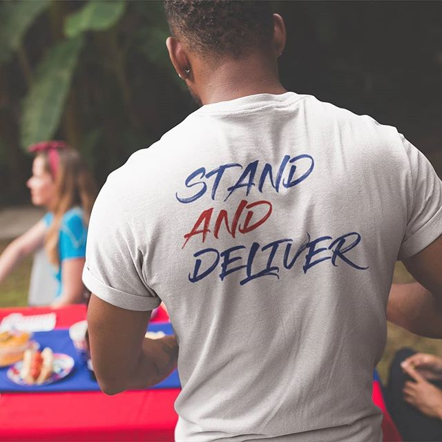 Click the link in our bio to pre order our new tee! #StandAndDeliver #OGFree #OGFreeLiving